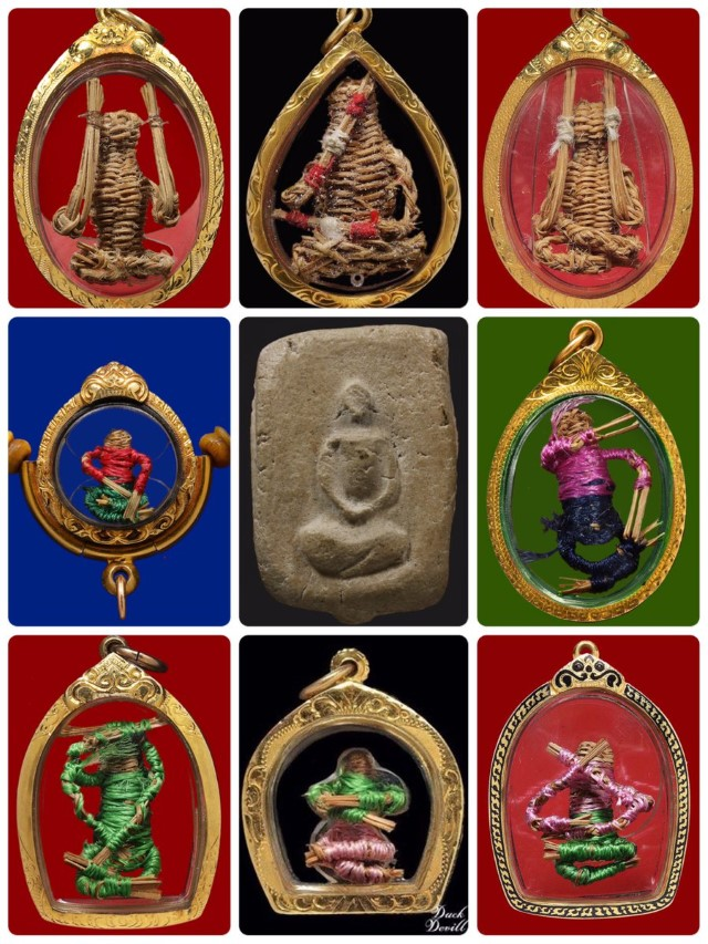 The Hoon Payon amulets of Ajahn Loi